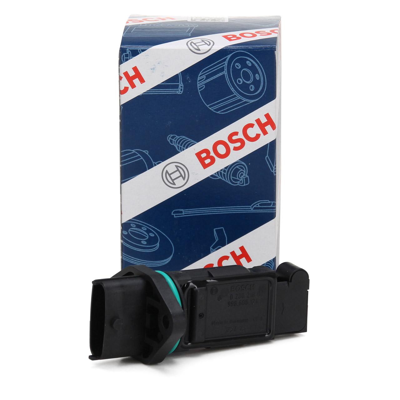 BOSCH 0280218009 Luftmassenmesser für PORSCHE 911 + CABRIO (996) 3.4 - 3.6 GT2