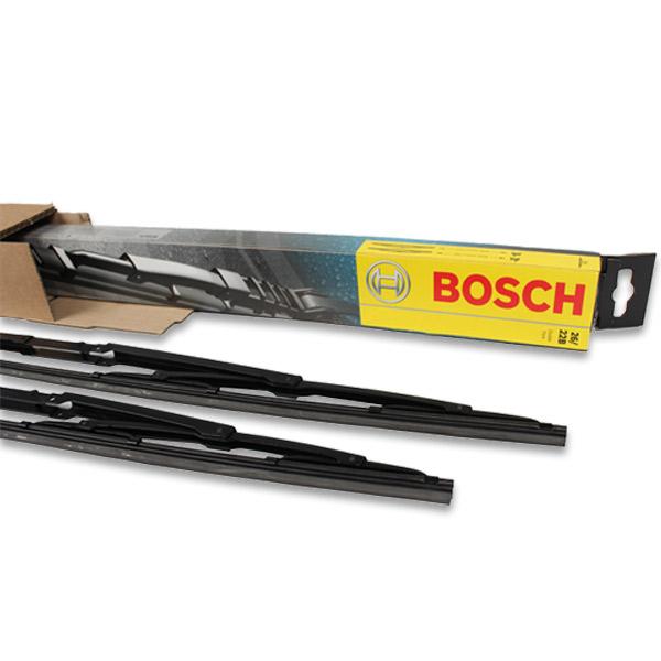 BOSCH 801S TWIN SPOILER Scheibenwischer Satz VW T5 Amarok PORSCHE Panamera (970) vorne