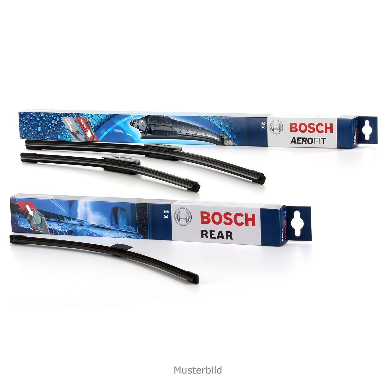 BOSCH Scheibenwischer Wischerblätter Set AF051 + A330H für SKODA FABIA II (542)
