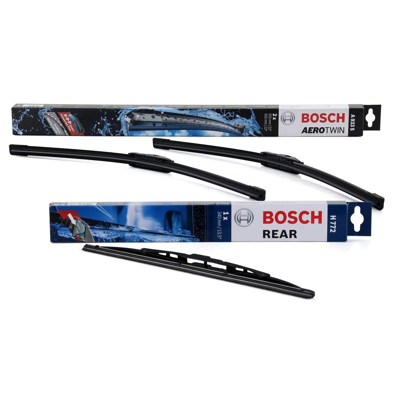 BOSCH A933S + H772 Scheibenwischer AUDI A4 Avant (8E B6 B7) vorne + hinten