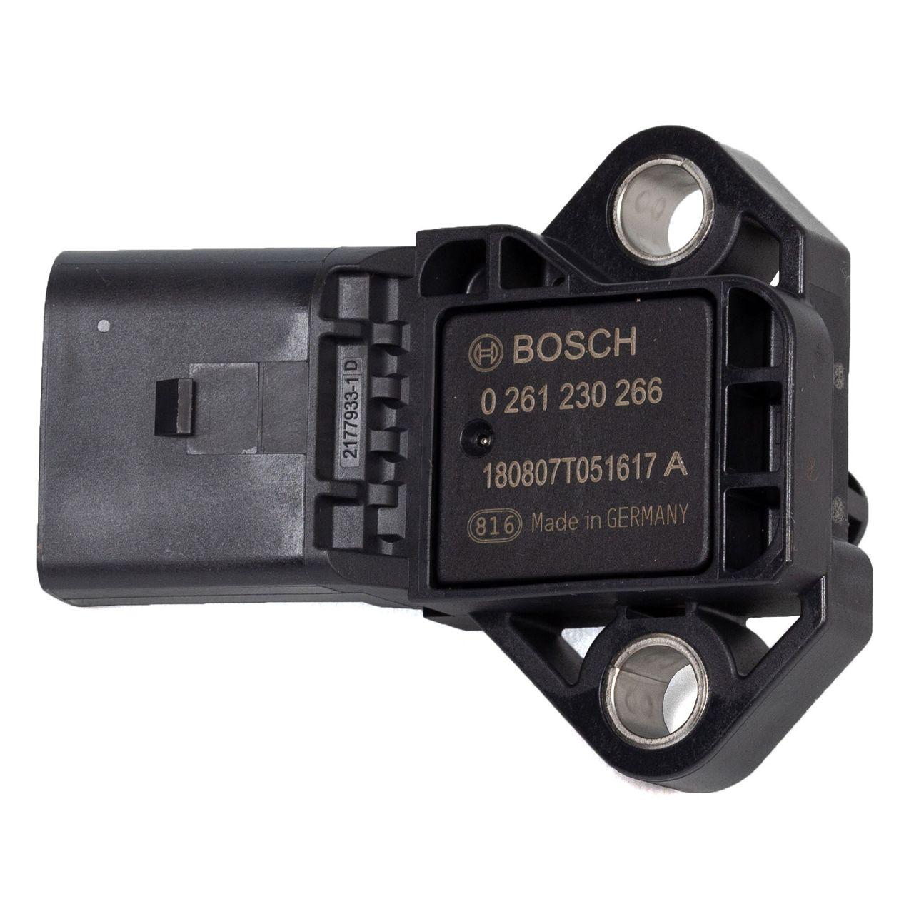 BOSCH 0261230266 Sensor Ladedruck AUDI A1 A3 A4 A6 SEAT Leon SKODA VW Golf 5 6