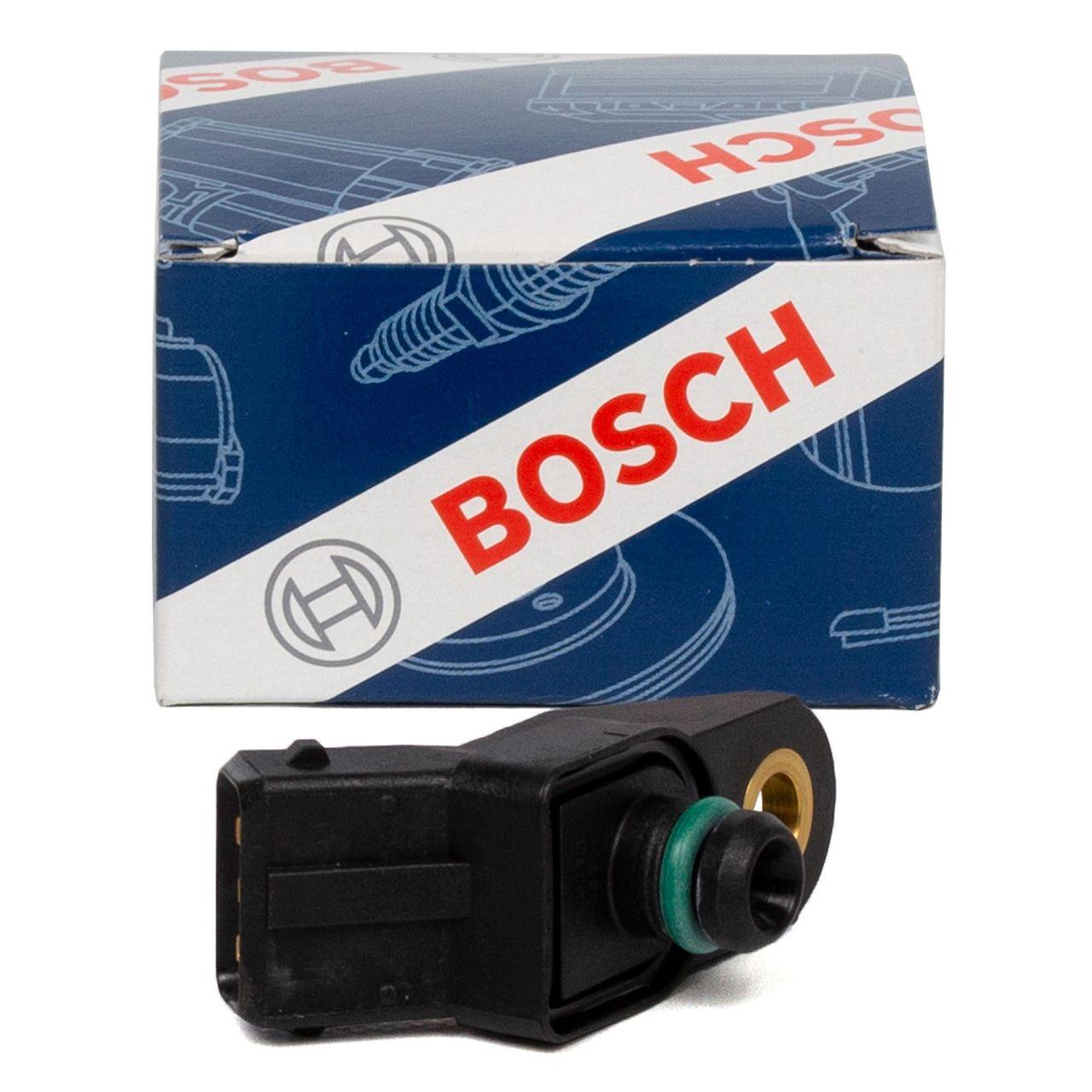 BOSCH Saugrohrdrucksensor Differenzdrucksensor Ladedrucksensor 0261230012