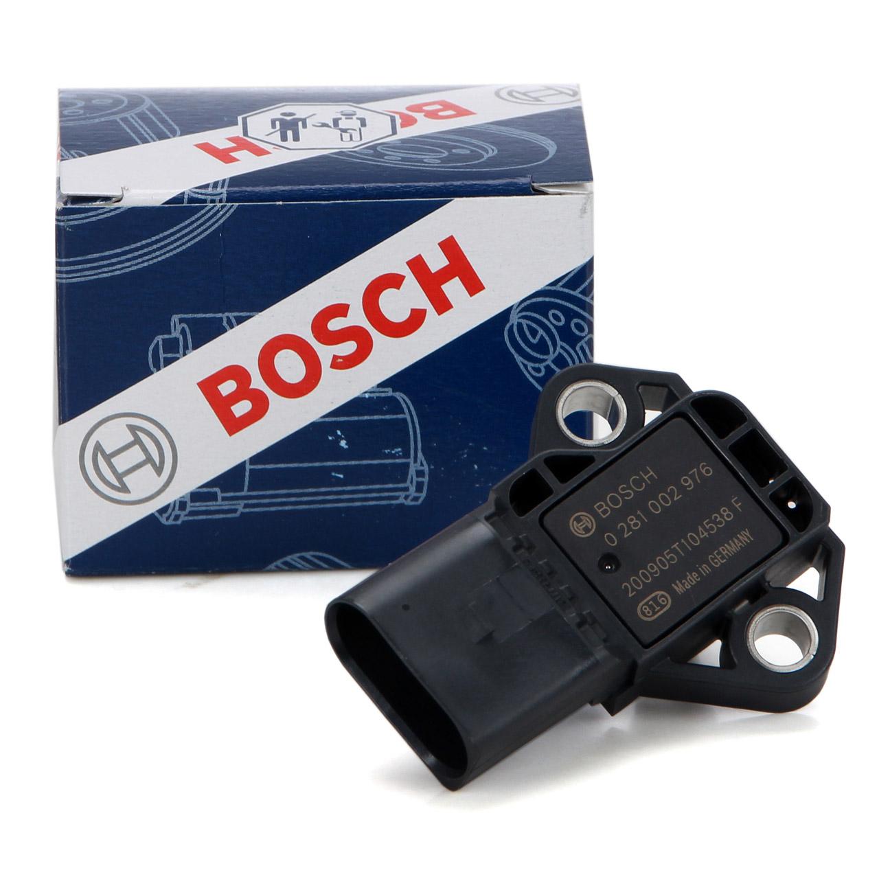 BOSCH MAP-Sensor Unterdrucksensor Saugrohrdruck Ladedruck für AUDI SEAT SKODA VW