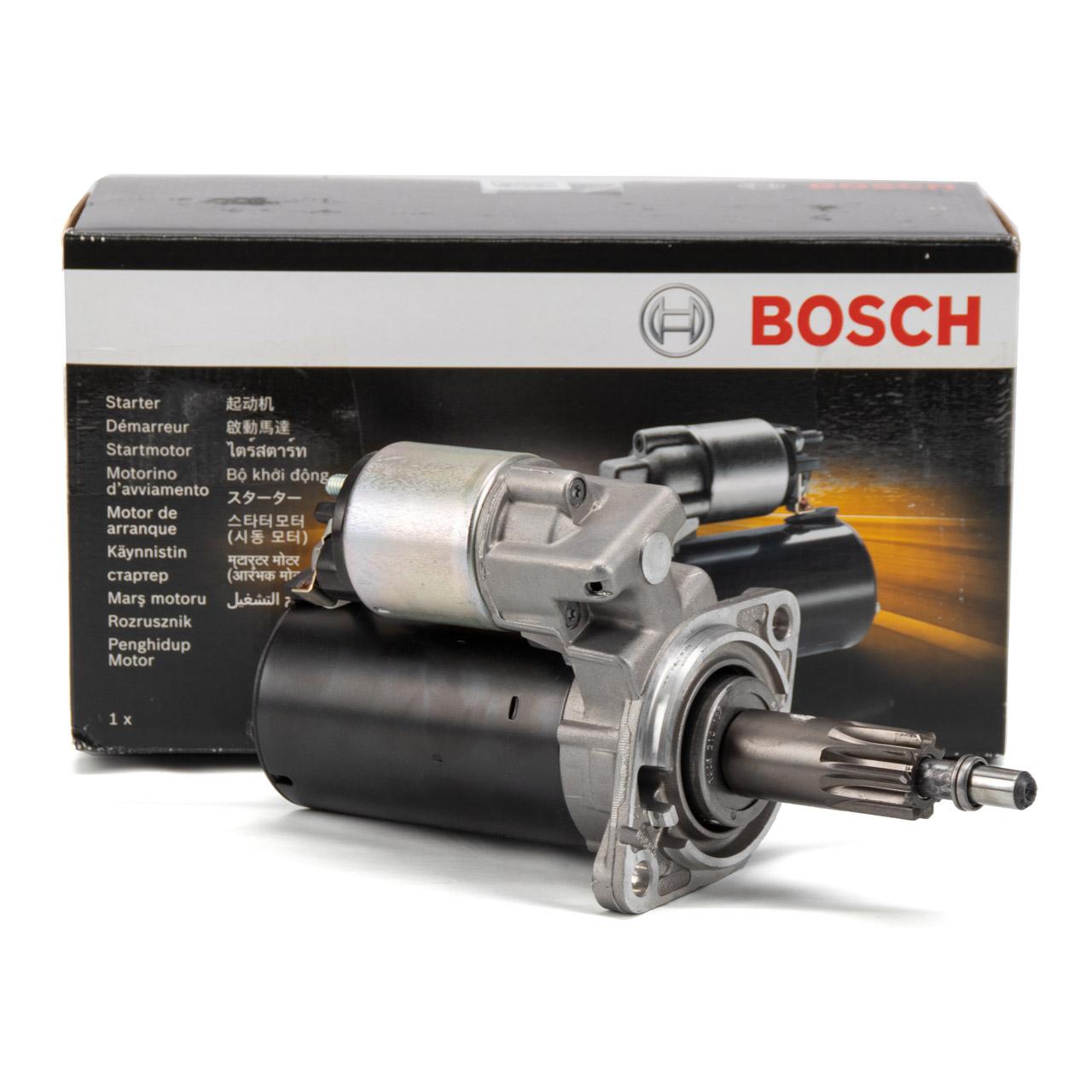 BOSCH 0001115118 Anlasser Starter 12V 1,7kW für PORSCHE 911 (964 993 996 997)