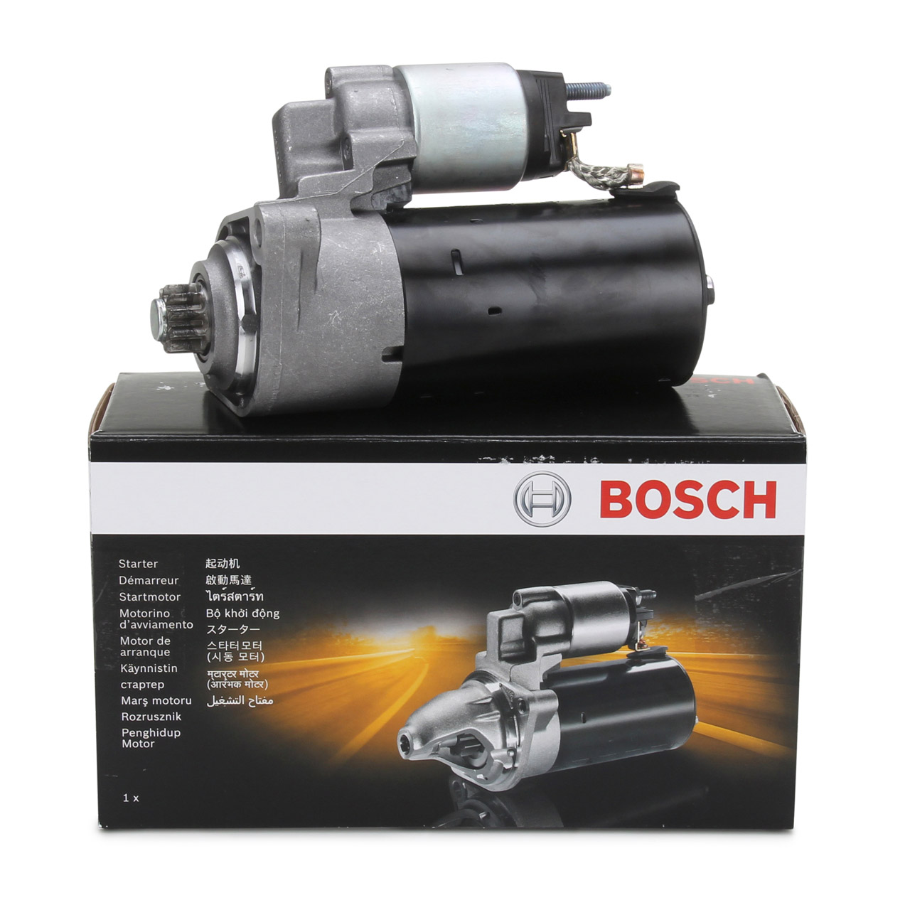 BOSCH 0001125057 Anlasser 12V 2,0 kW PORSCHE Cayenne (9PA) S / GTS / Turbo 4.8