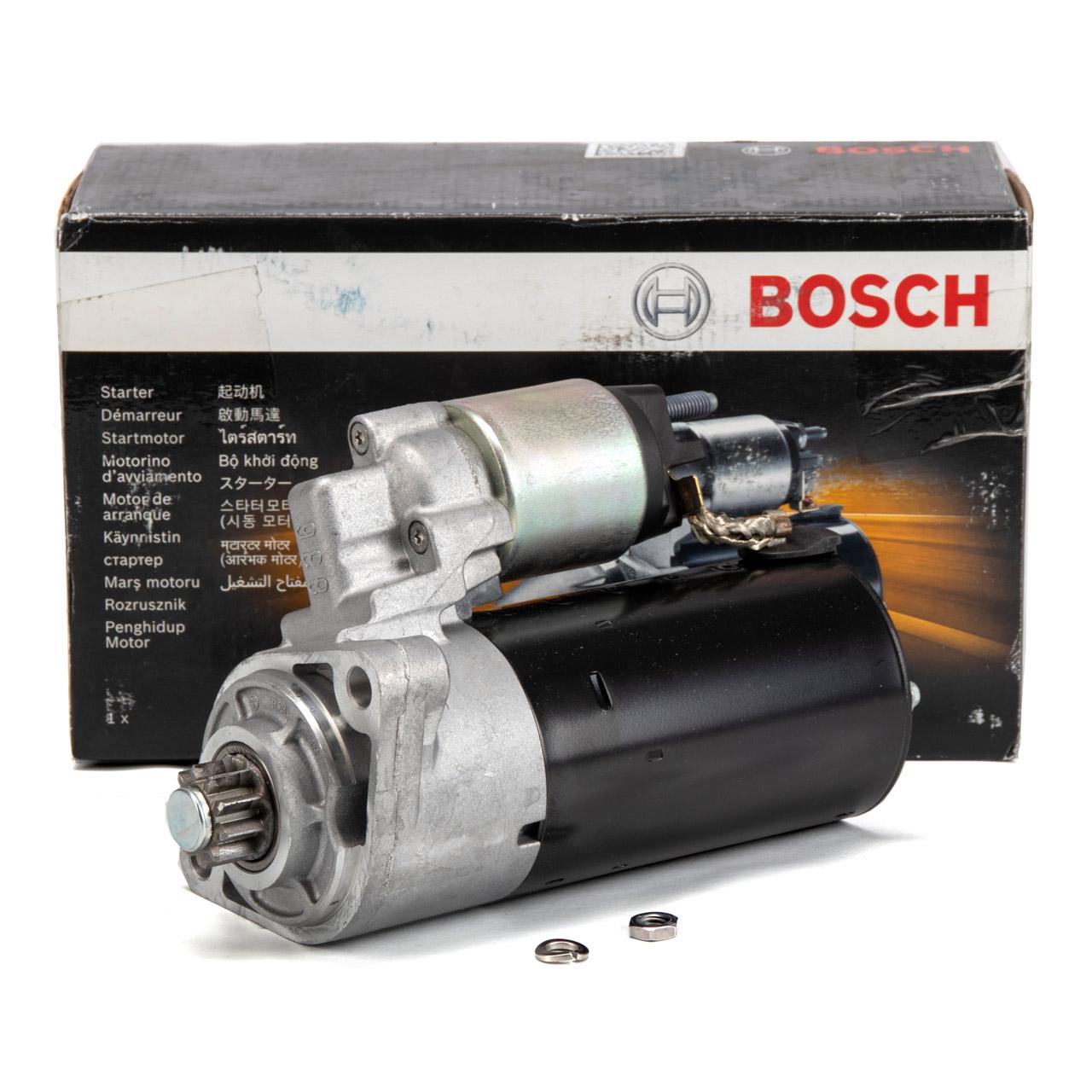 BOSCH 0001125059 Anlasser 12V 2.0 kW für PORSCHE CAYENNE (9PA) S / GTS / Turbo S