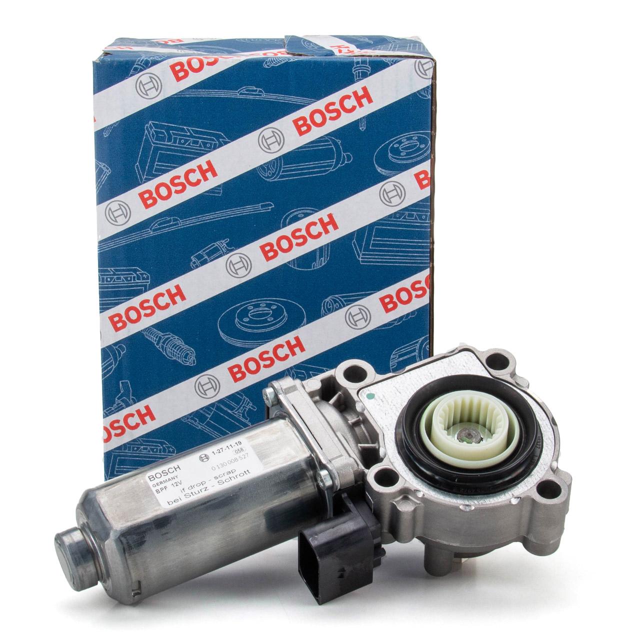 BOSCH 0130008527 Stellmotor Verteilergetriebe BMW X3 E83 X5 E53 E70 X6 E71 E72 27102449709