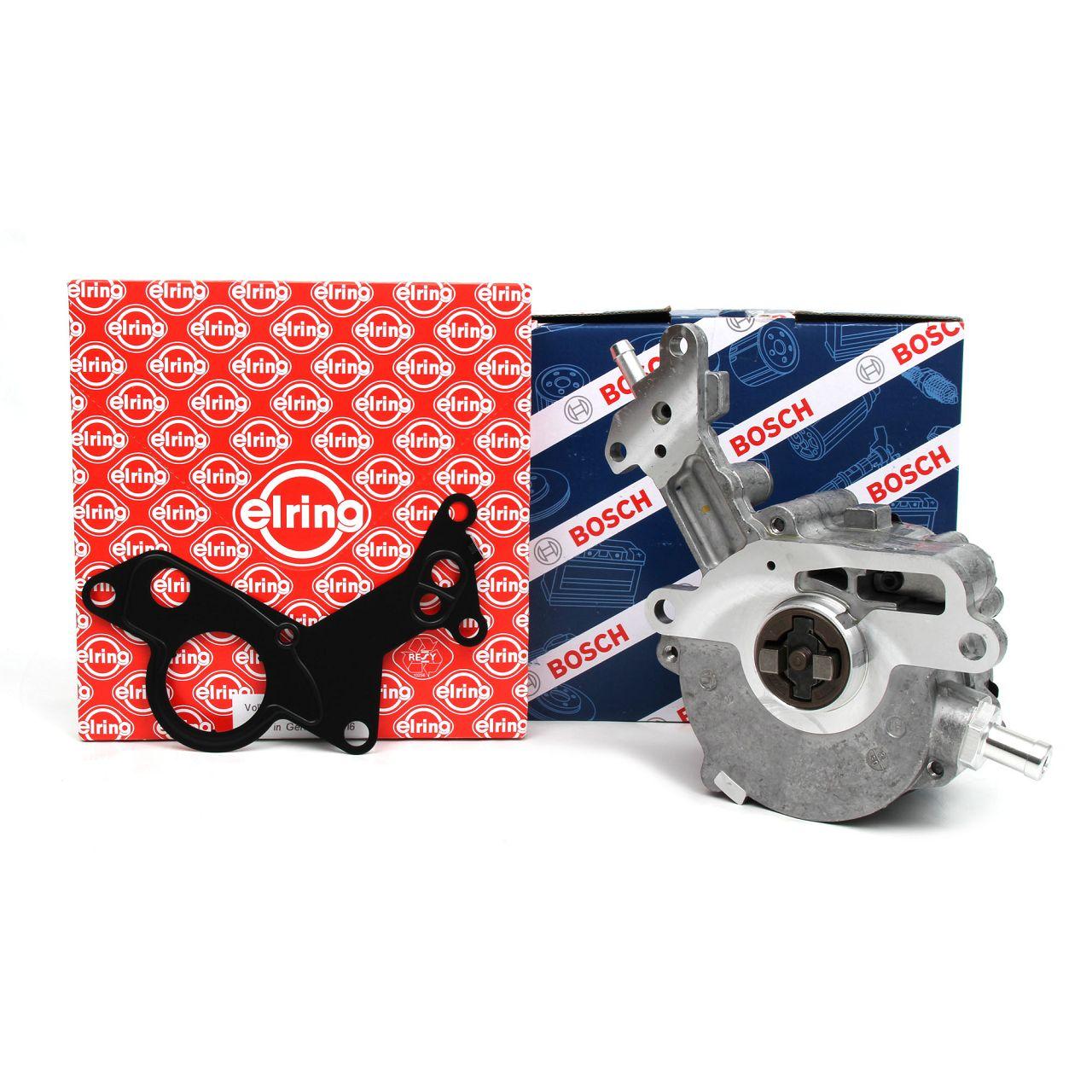 BOSCH Unterdruckpumpe Vakuumpumpe F009D02799 + DICHTUNG für AUDI SEAT VW TDI