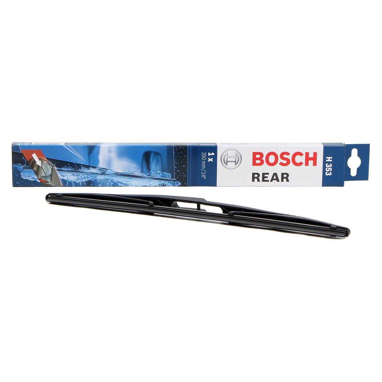 BOSCH Heckscheibenwischer Wischerblatt Wischer H353 350mm