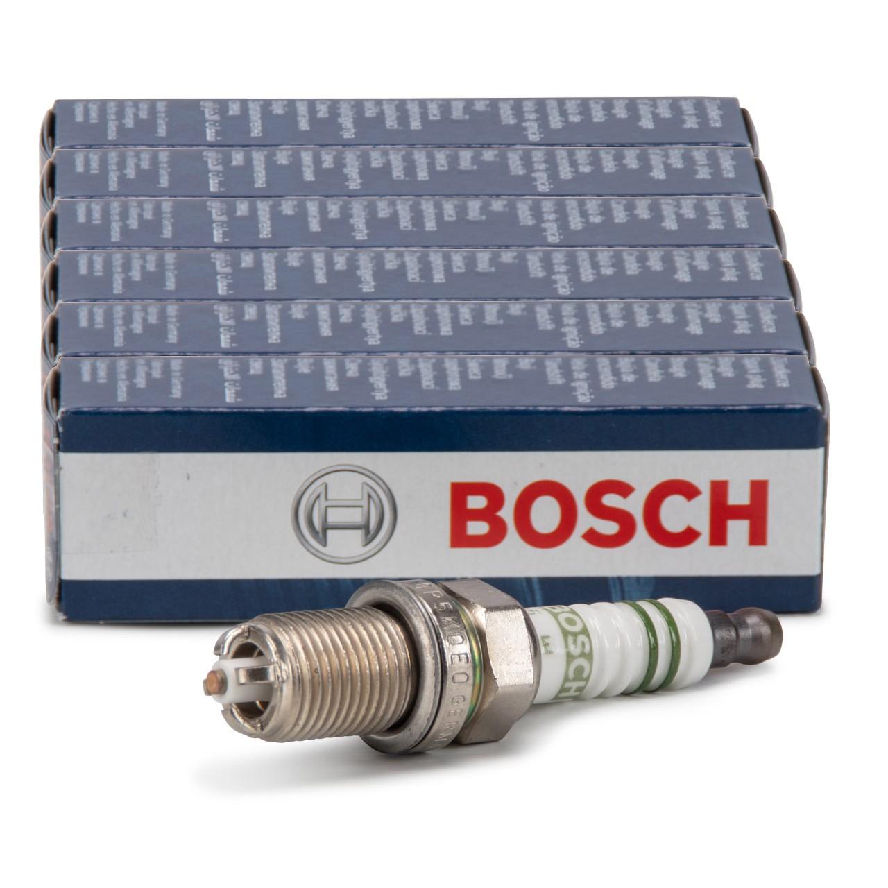 6x BOSCH FGR5KQE0 0242245559 Zündkerze PORSCHE 996 997 Boxster Cayman (987)