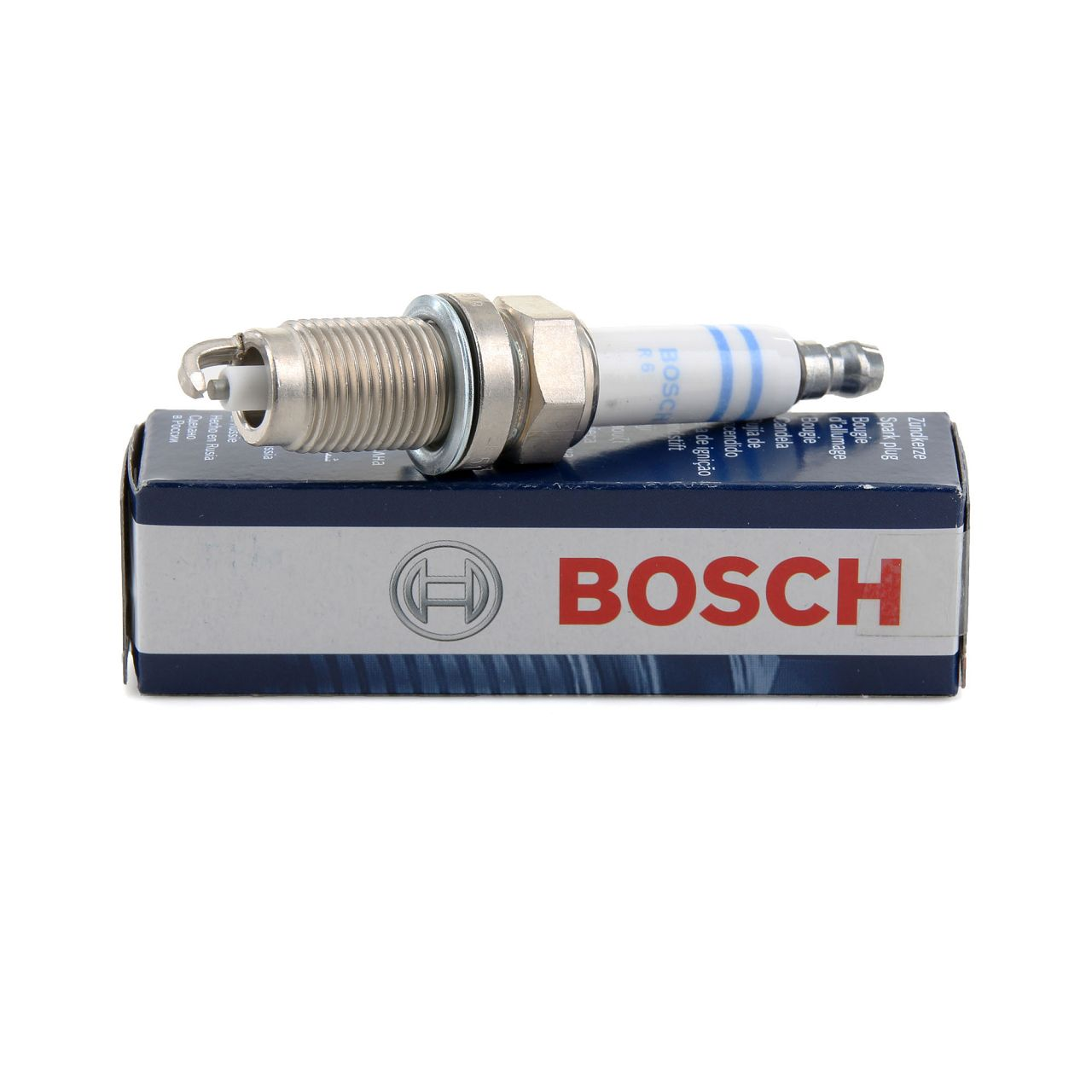 BOSCH Zündkerze Super Plus FR7HC+ 0242236565 für JEEP SEAT SKODA VW