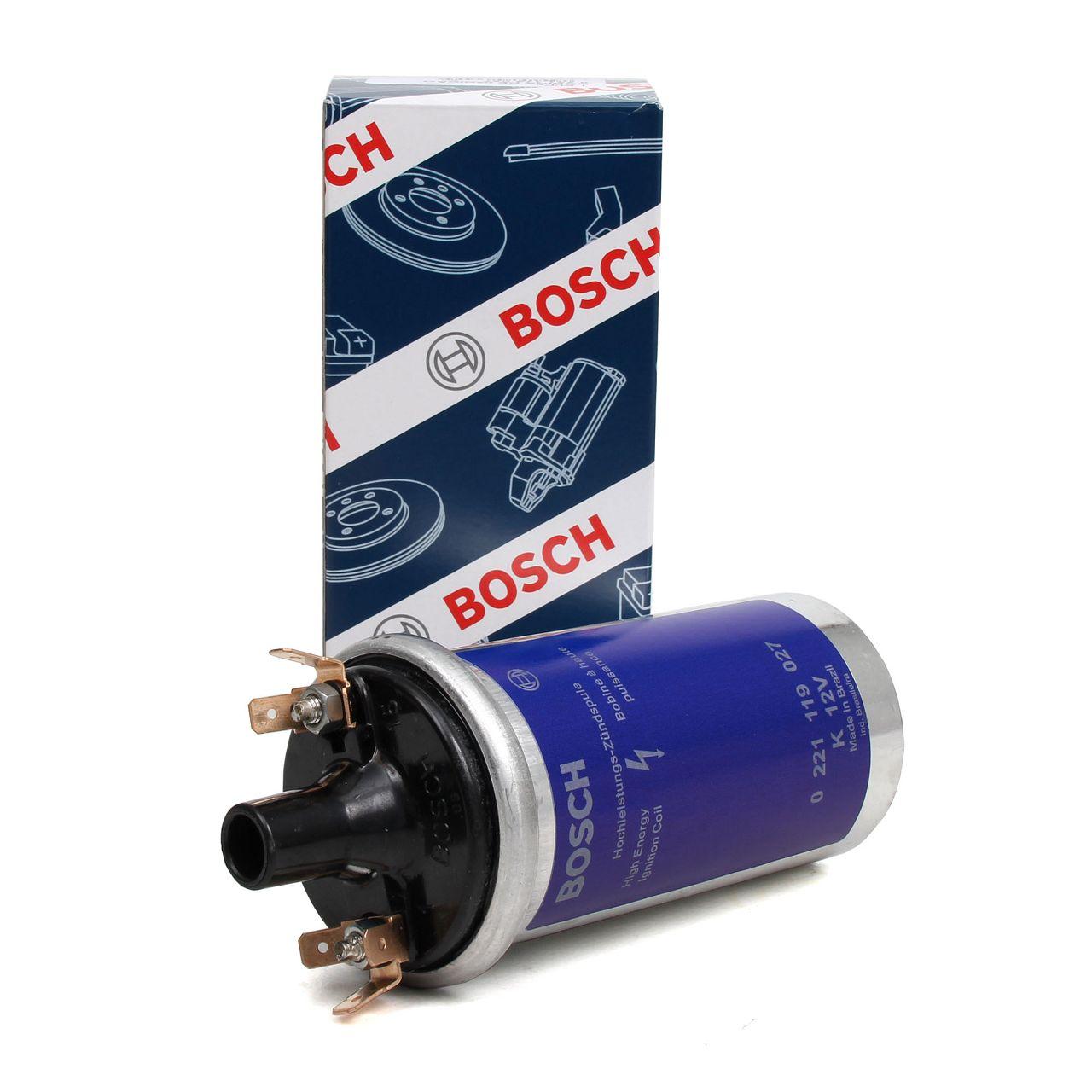 BOSCH 0221119027 Zündspule Zündmodul 12V Hochleistungs-Zündspule Zündeinheit