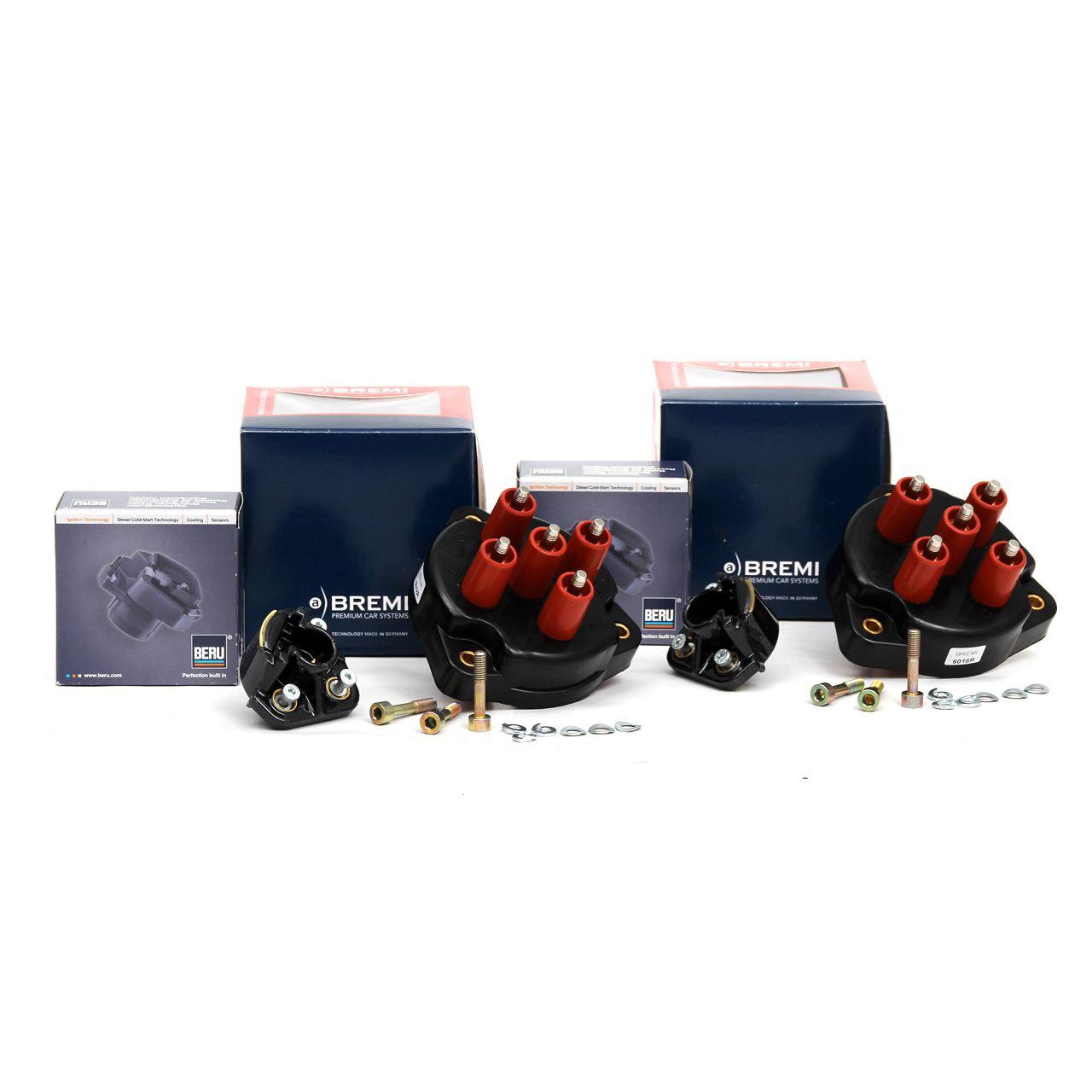 2x Verteilerkappe + Verteilerfinger MERCEDES W124 W140 R129 M119