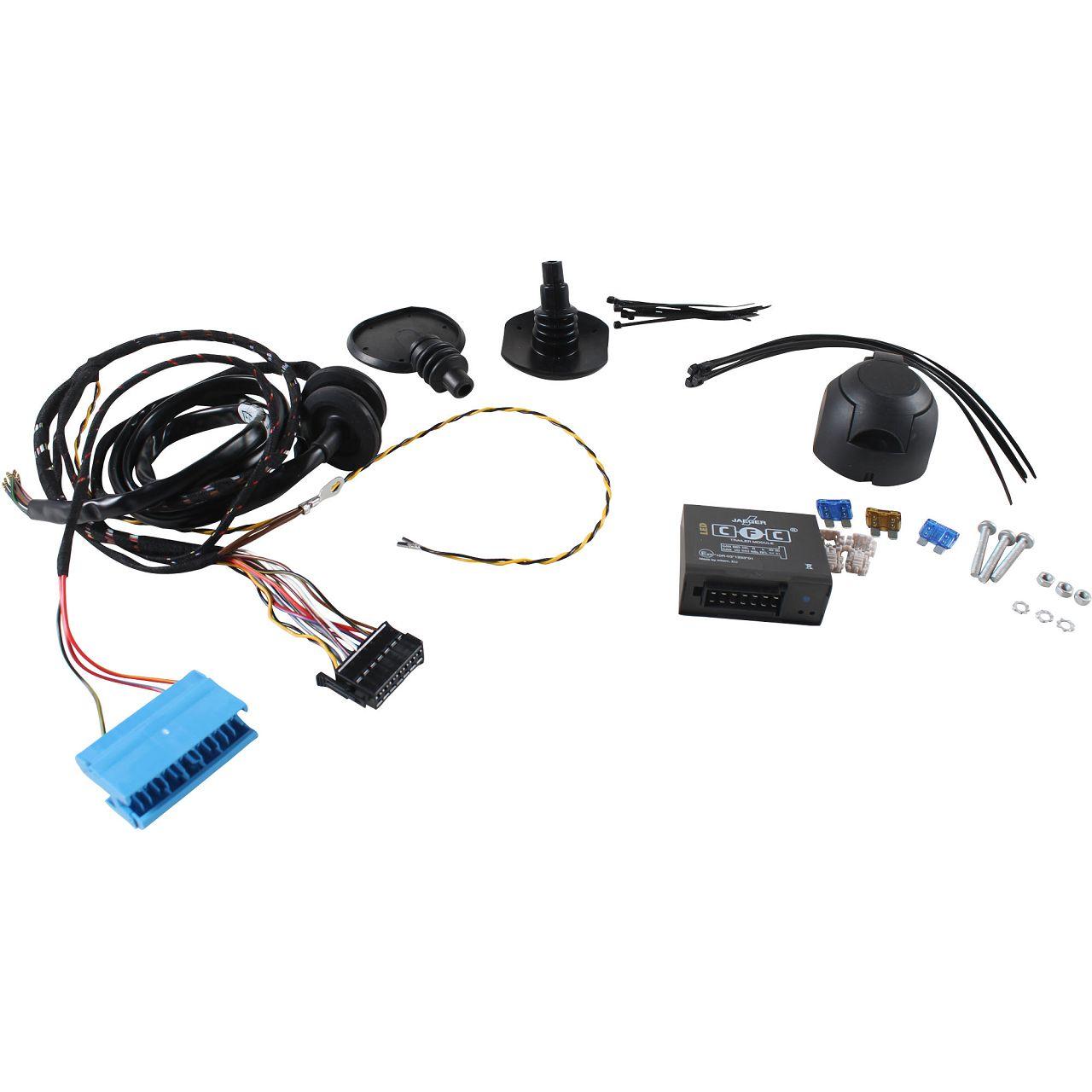 BRINK Kabelsatz E-Satz Anhängerkupplung 7-polig MERCEDES W204 C204 S204 W212 S212