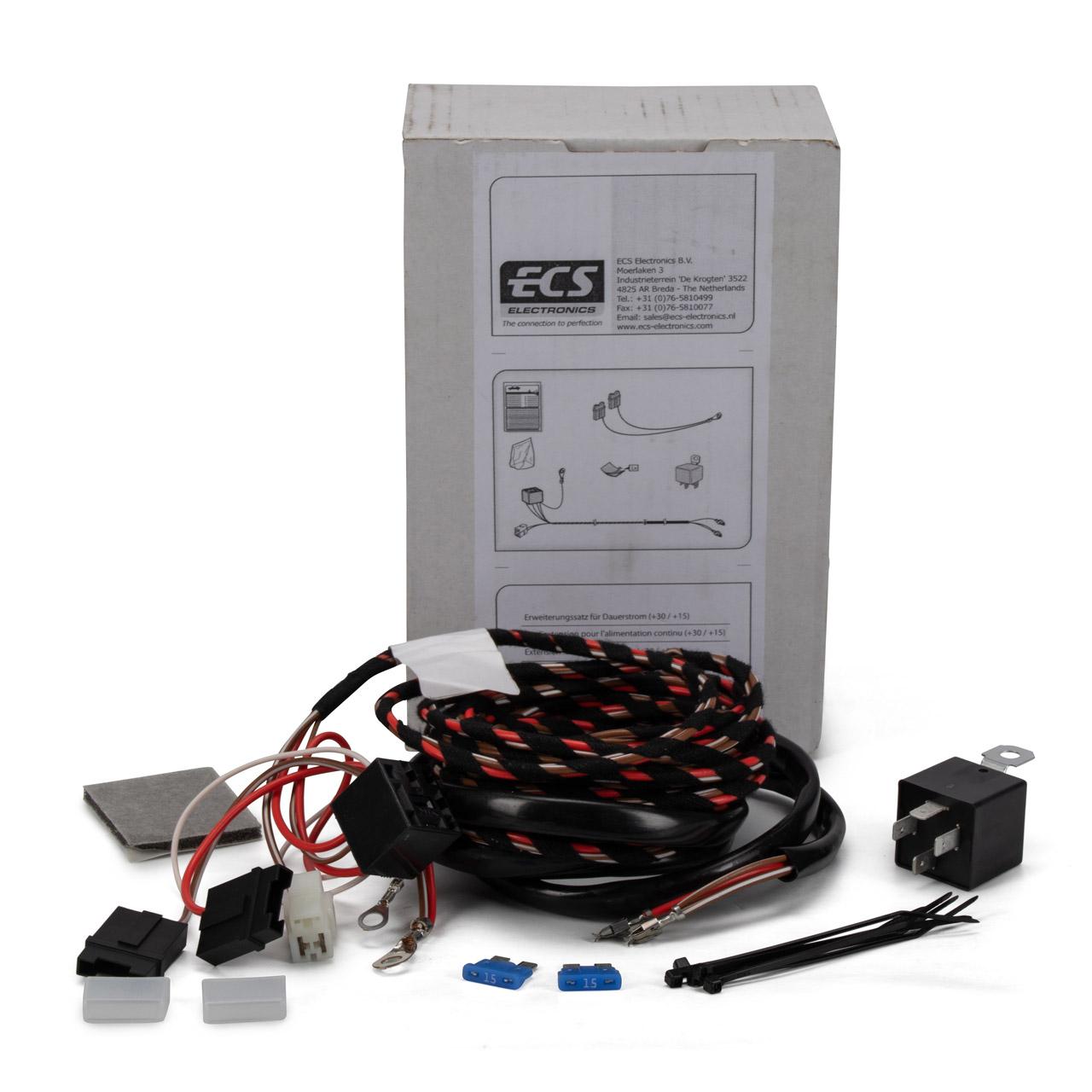 BRINK 765079 E-Satz Kabelsatz Ergänzungssatz für Dauerstrom und Ladeleitung