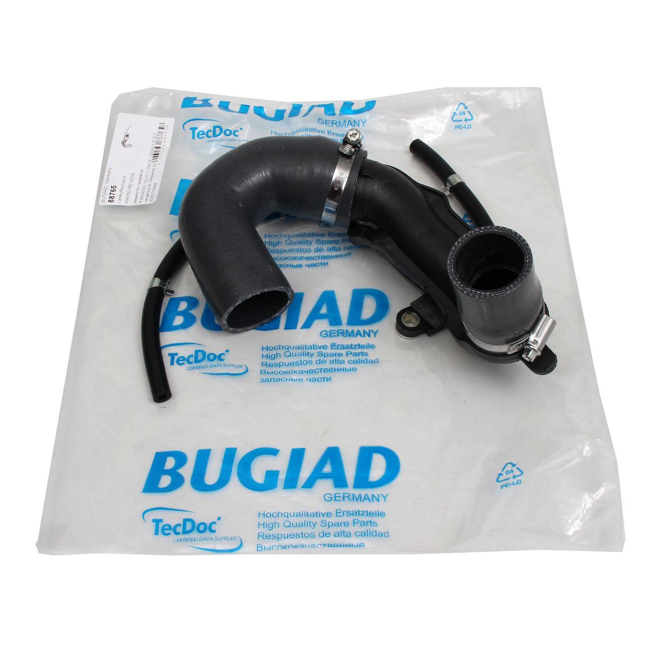 Ladeluftschlauch Turboschlauch für DACIA LOGAN SANDERO RENAULT CLIO 2 + 3 1.5dCi