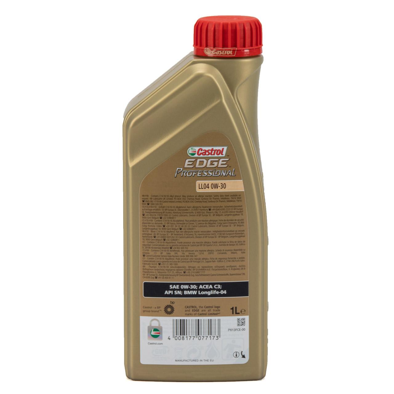 CASTROL EDGE Professional Motoröl Öl für BMW Longlife IV LL04 0W-30 - 1 Liter