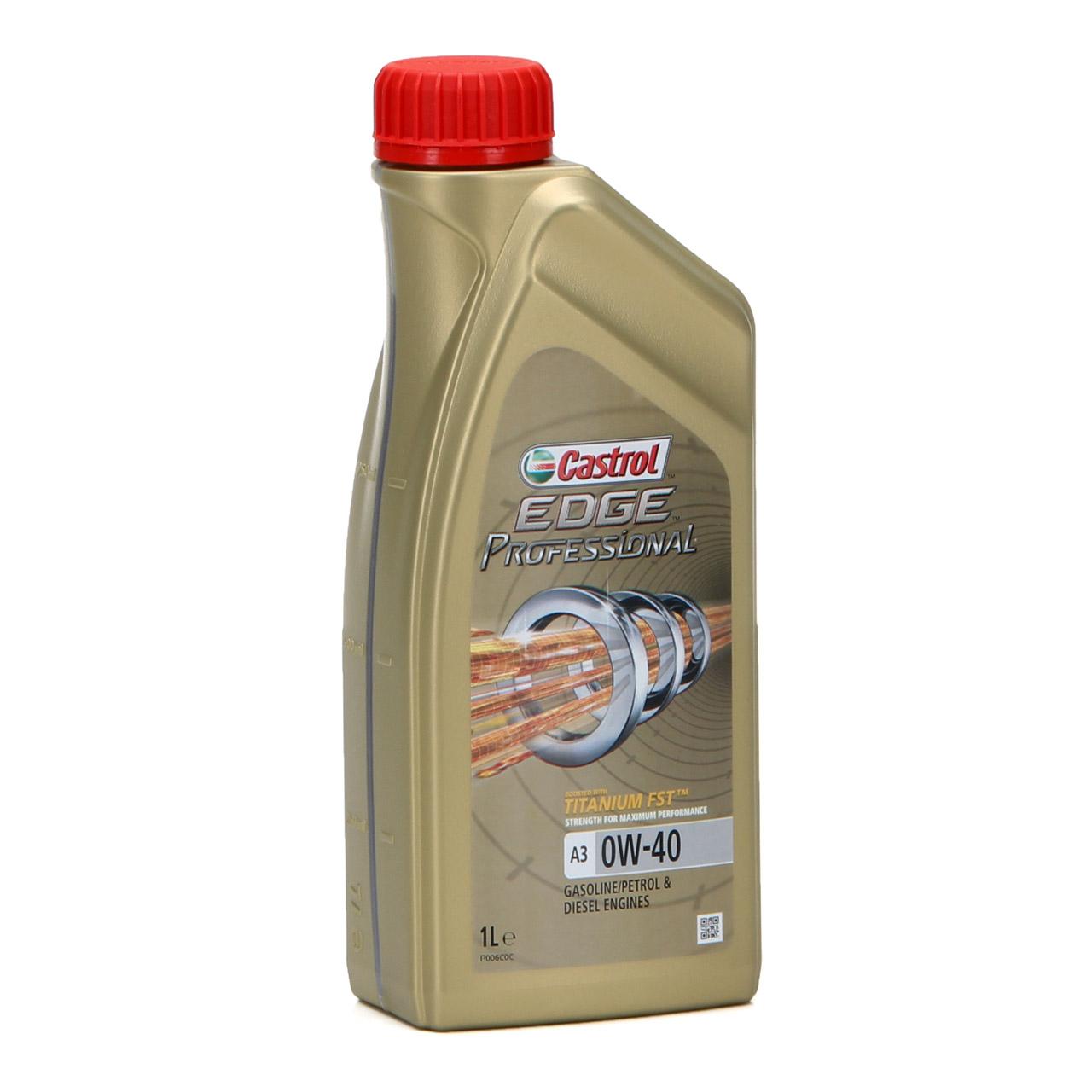 CASTROL EDGE Professional Motoröl Öl TITANIUM FST A3 0W40 BMW LL-01 - 4L 4 Liter
