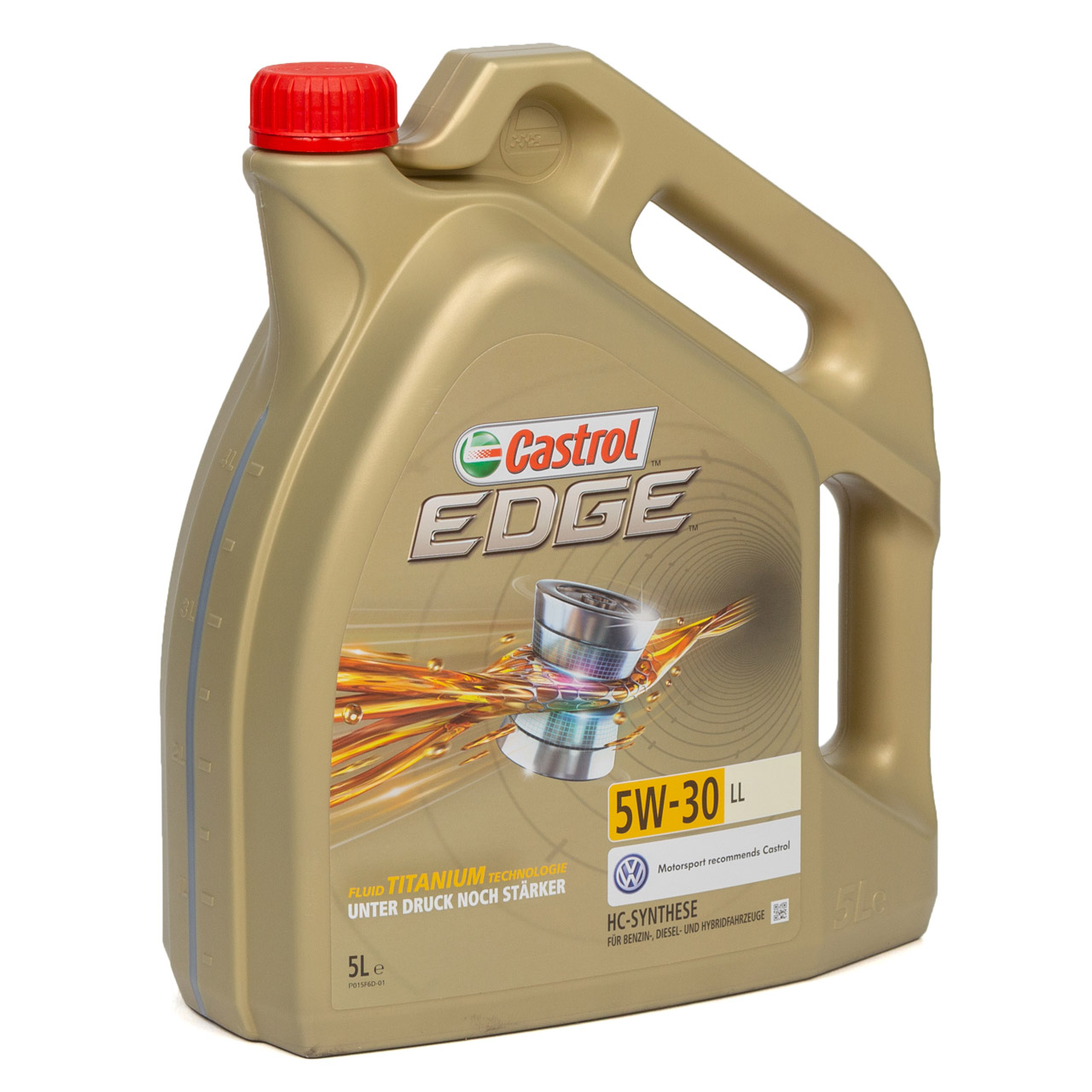 CASTROL EDGE Motoröl ÖL TITANIUM 5W30 LL ACEA C3 VW 504.00/507.00 - 5L 5 Liter