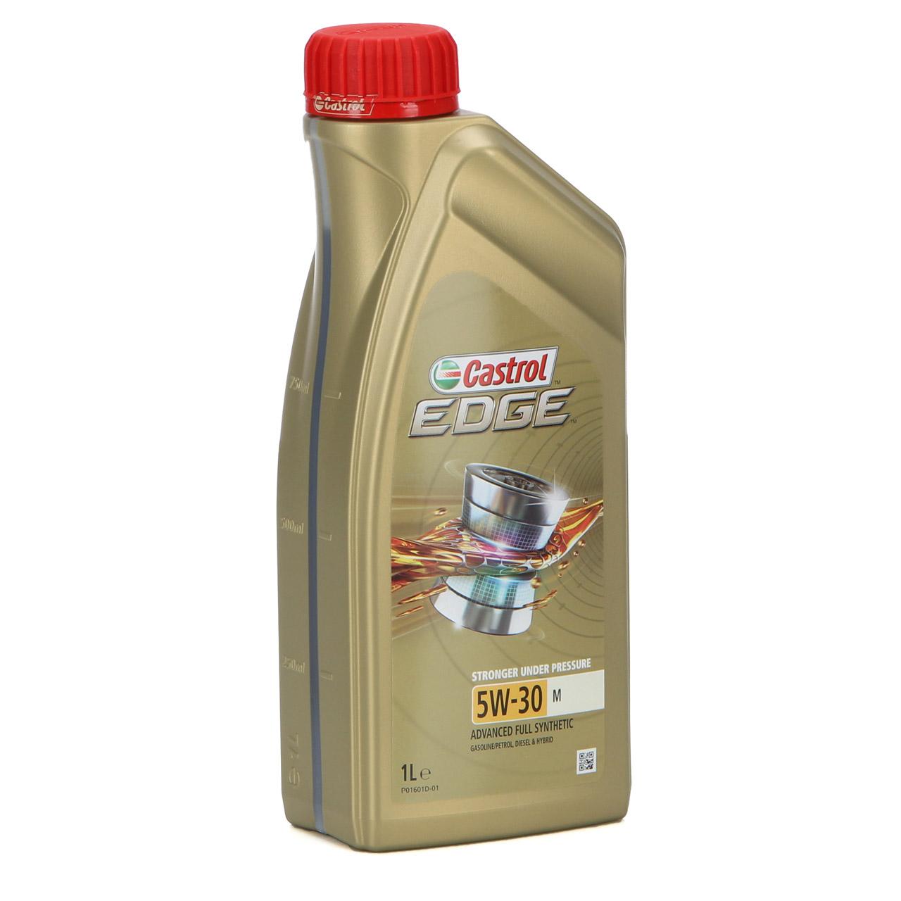 1L 1 Liter CASTROL Edge TITANIUM Motoröl ÖL 5W30 M BMW LL-04 MB 229.31/51/52