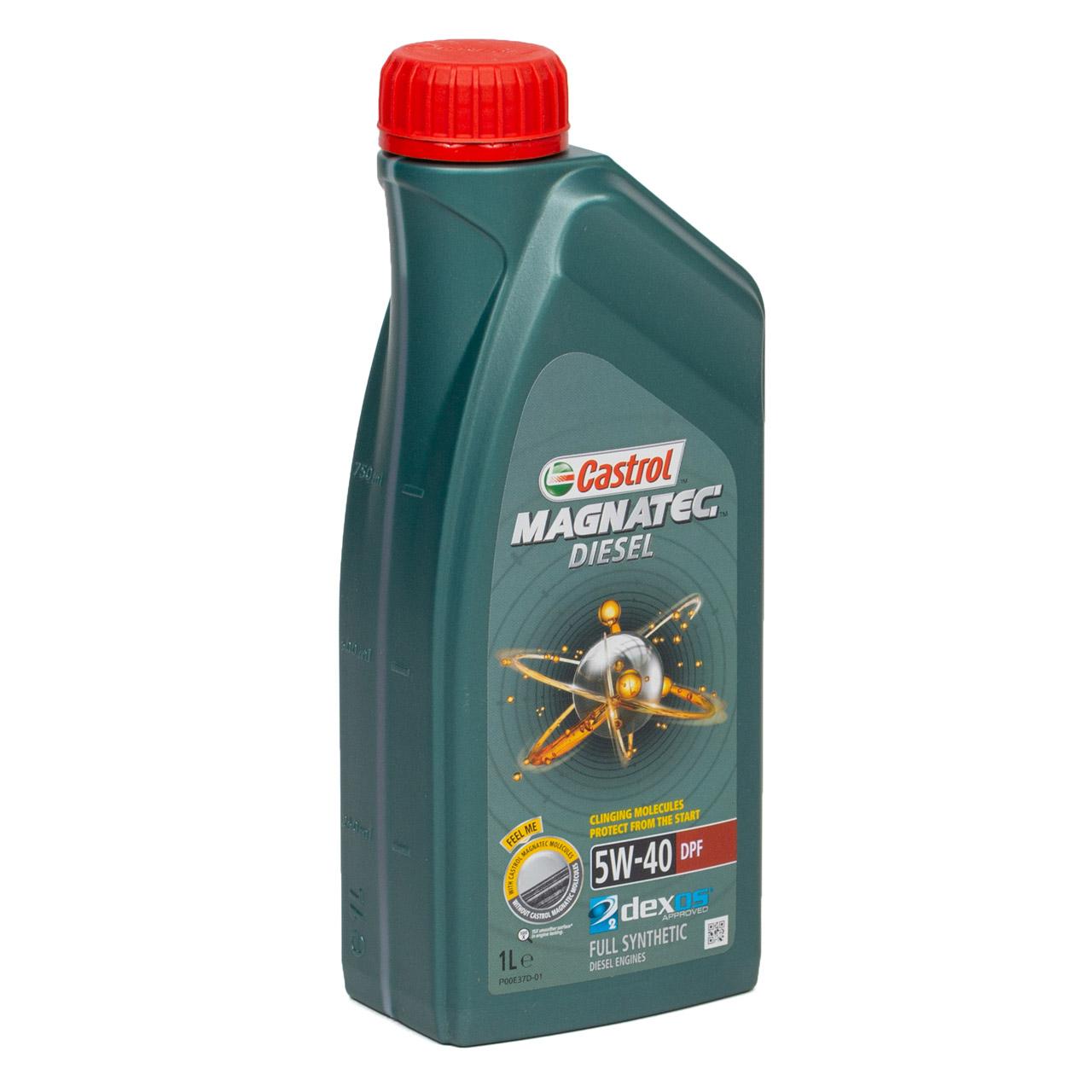 CASTROL Magnatec DIESEL DPF Motoröl Öl 5W40 dexos2 Ford WSS-M2C917-A - 7 Liter