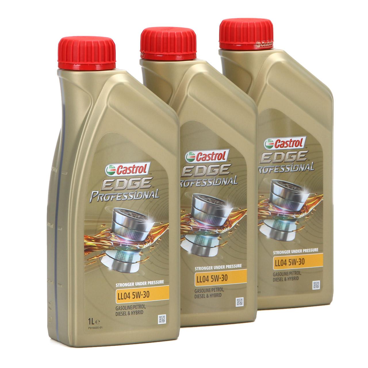 CASTROL EDGE Professional Motoröl Öl für BMW Longlife IV LL04 5W-30 - 3 Liter