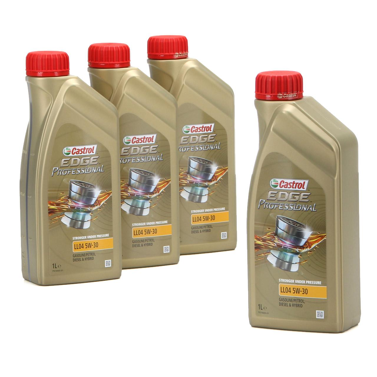 CASTROL EDGE Professional Motoröl Öl für BMW Longlife IV LL04 5W-30 - 4 Liter