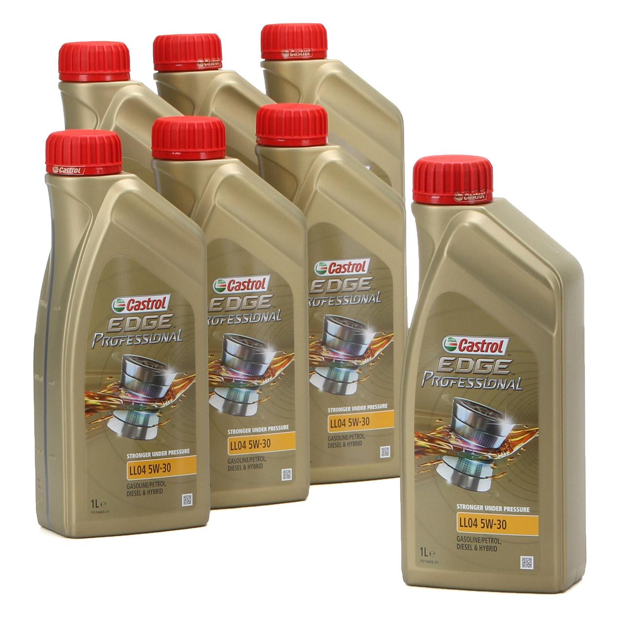 CASTROL EDGE Professional Motoröl Öl für BMW Longlife IV LL04 5W-30 - 7 Liter