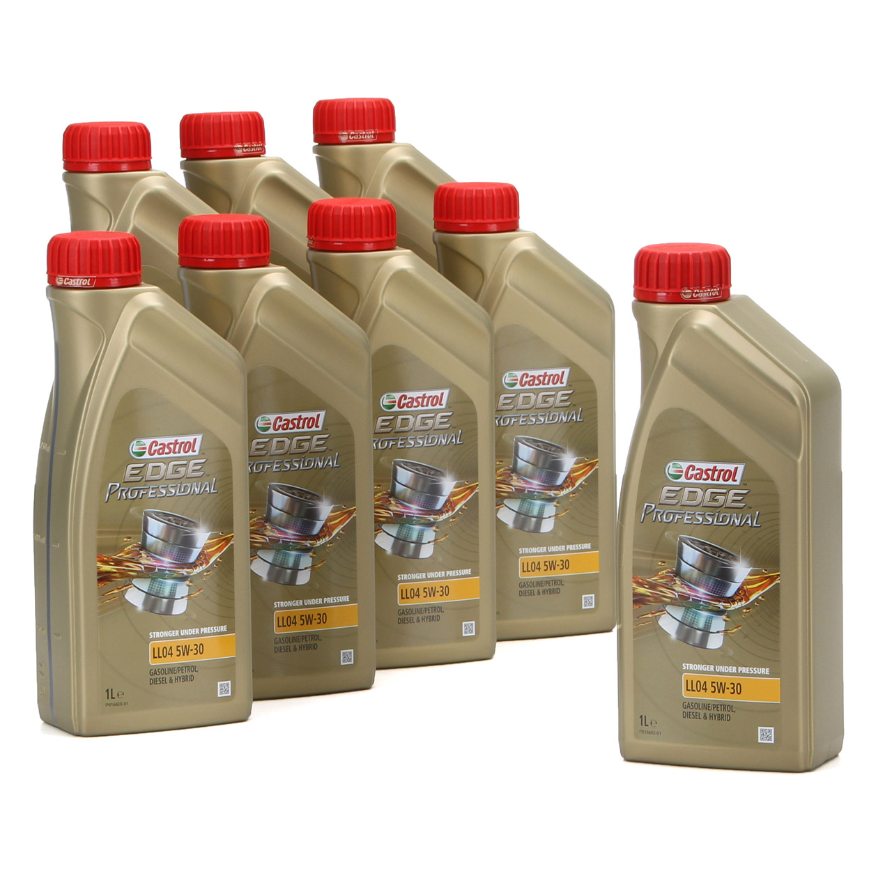 CASTROL EDGE Professional Motoröl Öl für BMW Longlife IV LL04 5W-30 - 8 Liter