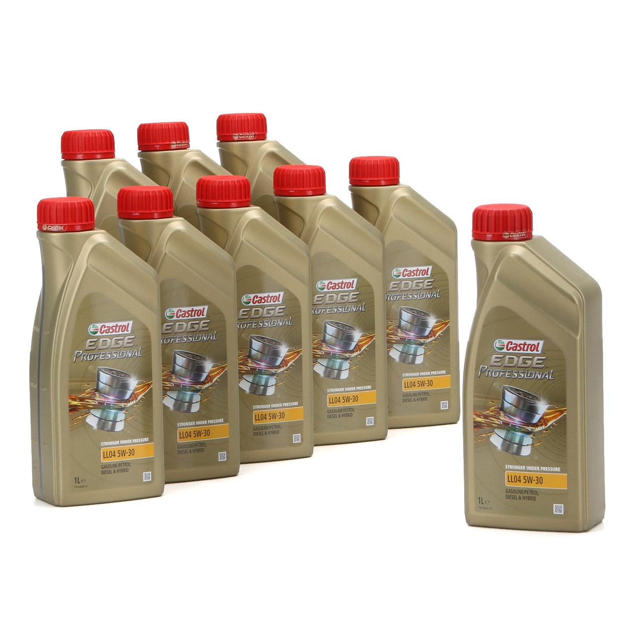 CASTROL EDGE Professional Motoröl Öl für BMW Longlife IV LL04 5W-30 - 9 Liter