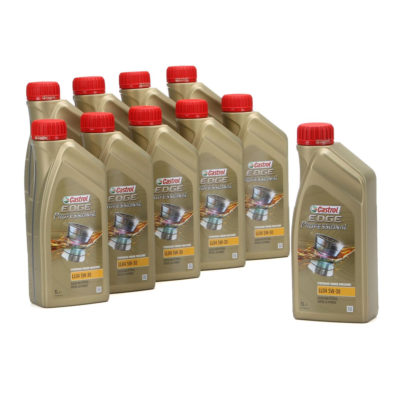 CASTROL EDGE Professional Motoröl Öl für BMW Longlife IV LL04 5W-30 - 10 Liter