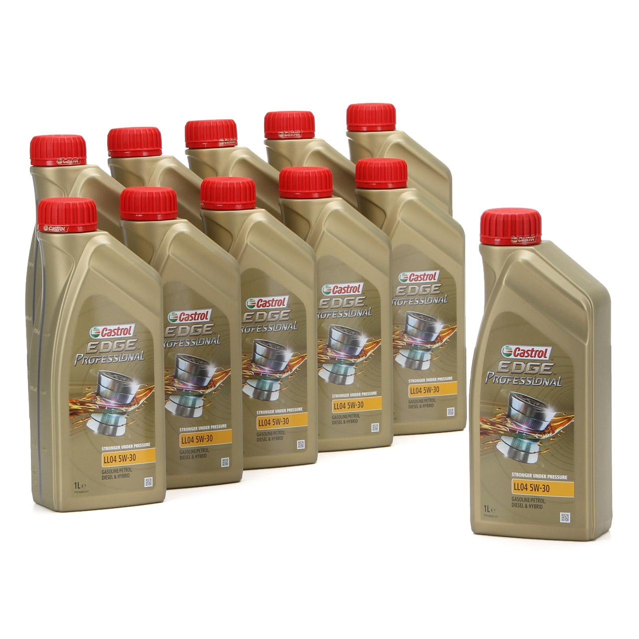 CASTROL EDGE Professional Motoröl Öl für BMW Longlife IV LL04 5W-30 - 11 Liter