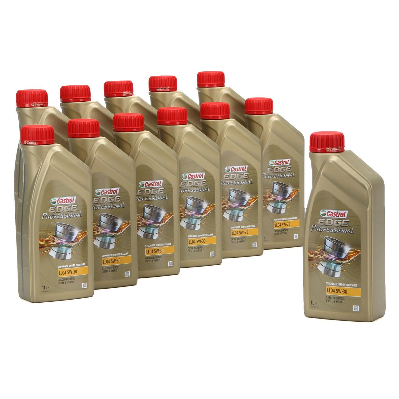 CASTROL EDGE Professional Motoröl Öl für BMW Longlife IV LL04 5W-30 - 12 Liter