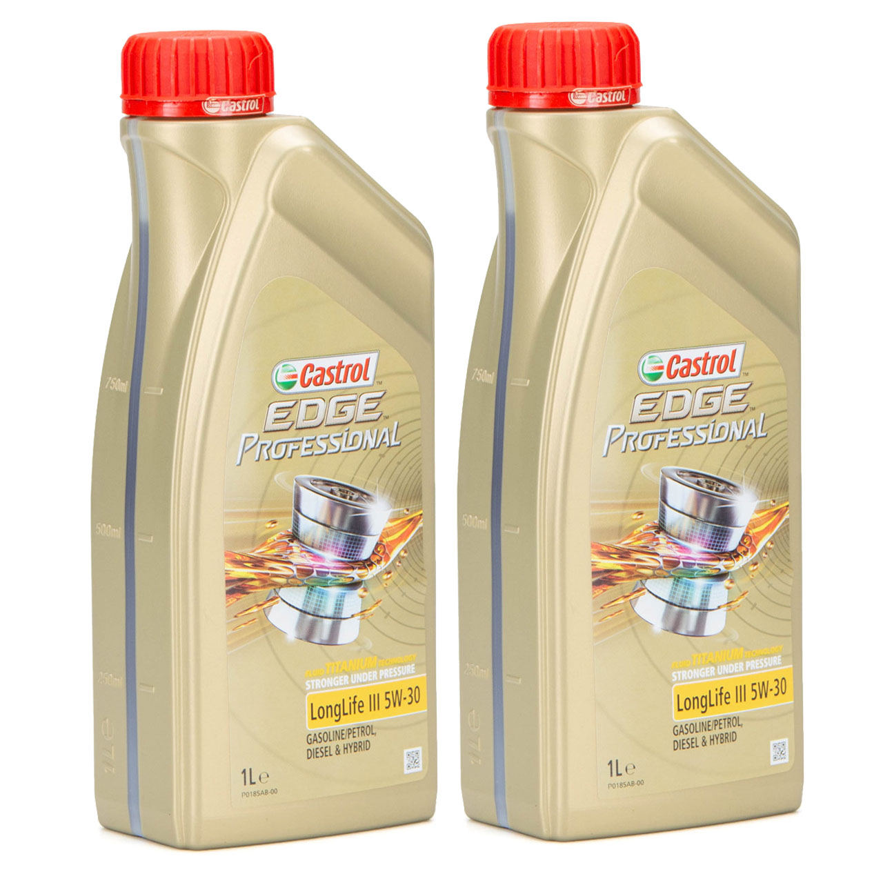 CASTROL EDGE Professional Motoröl Öl TITANIUM LongLife III 5W-30 5W30 - 2 Liter