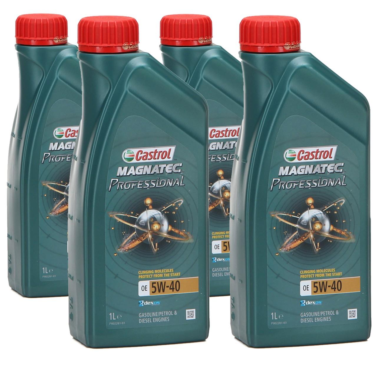 CASTROL Magnatec Professional Motoröl OE 5W40 dexos2 Ford WSS-M2C917-A - 4 Liter