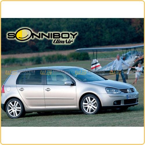 ClimAir SONNIBOY Sonnenschutz für VW GOLF V 5 (1K1) SCHRÄGHECK 5-TÜRER 3-teilig