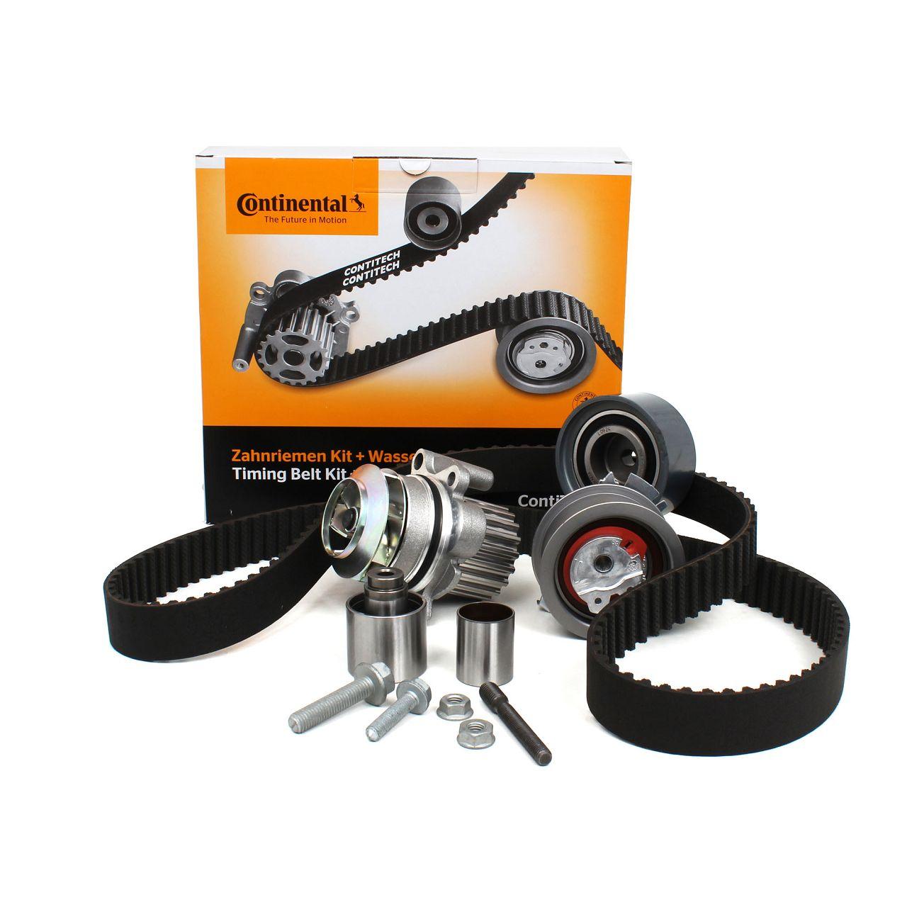 Conti CONTITECH Zahnriemensatz + Wasserpumpe CT1134WP2 für AUDI SEAT VW 2.0 TDI
