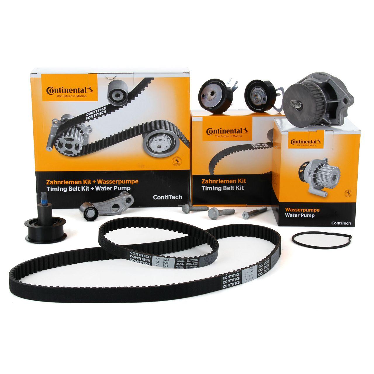 Conti CONTITECH Zahnriemensatz + Wasserpumpe CT957WP1 für AUDI SEAT SKODA VW 1.4