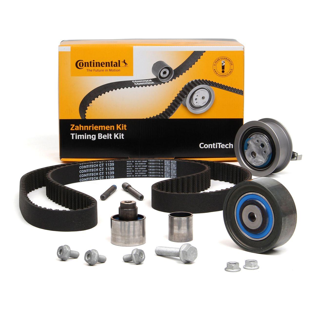Conti CONTITECH Zahnriemensatz CT1139K2 für AUDI SEAT SKODA VW 1.6 TDI 2.0 TDI