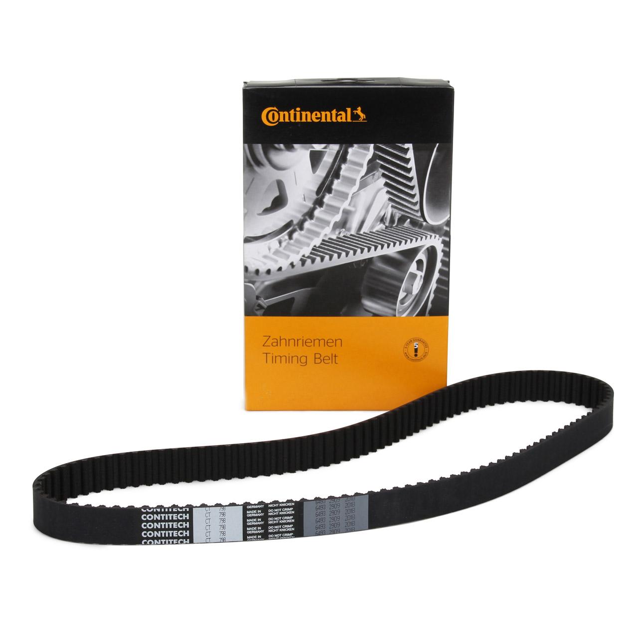 CONTITECH CT798 Zahnriemen Nockenwelle für PORSCHE 944 2.5 S 3.0 S2 + 968 3.0
