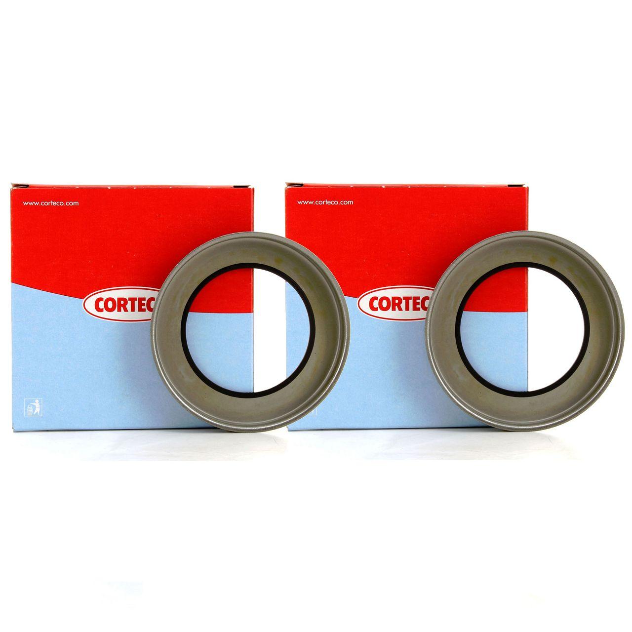 2x CORTECO ABS Ring Sensorring für FORD FIESTA IV V FOCUS I FUSION (JU_) hinten