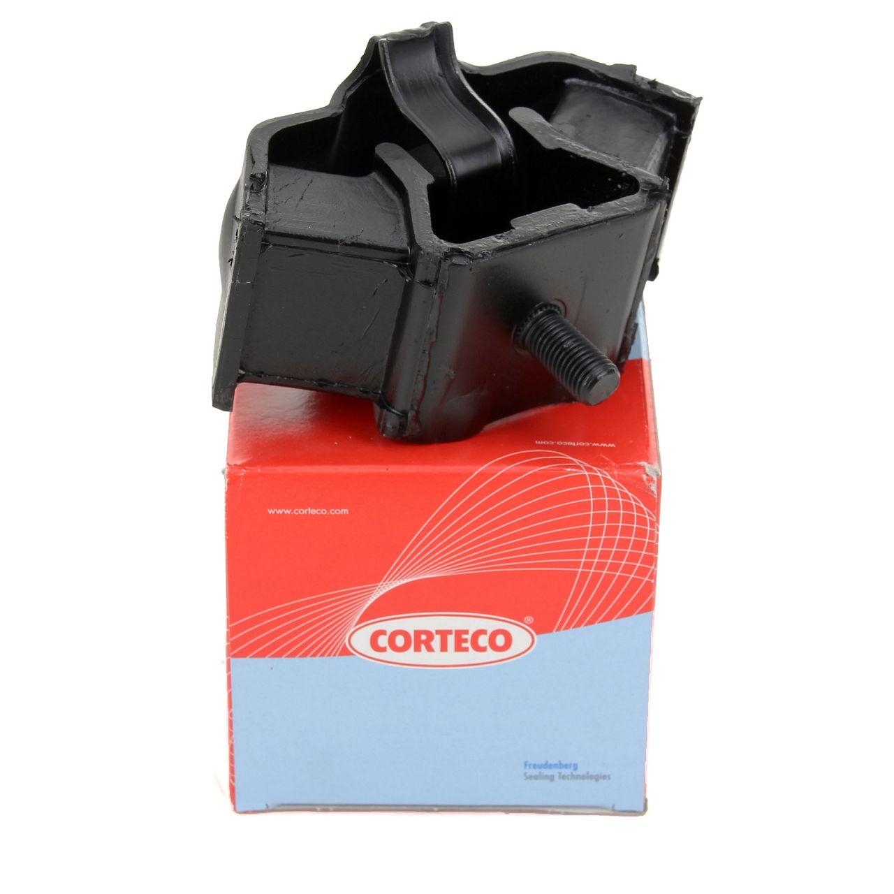 CORTECO Motorlager Automatikgetriebe für Mercedes 190 W201 W124 W123 hinten