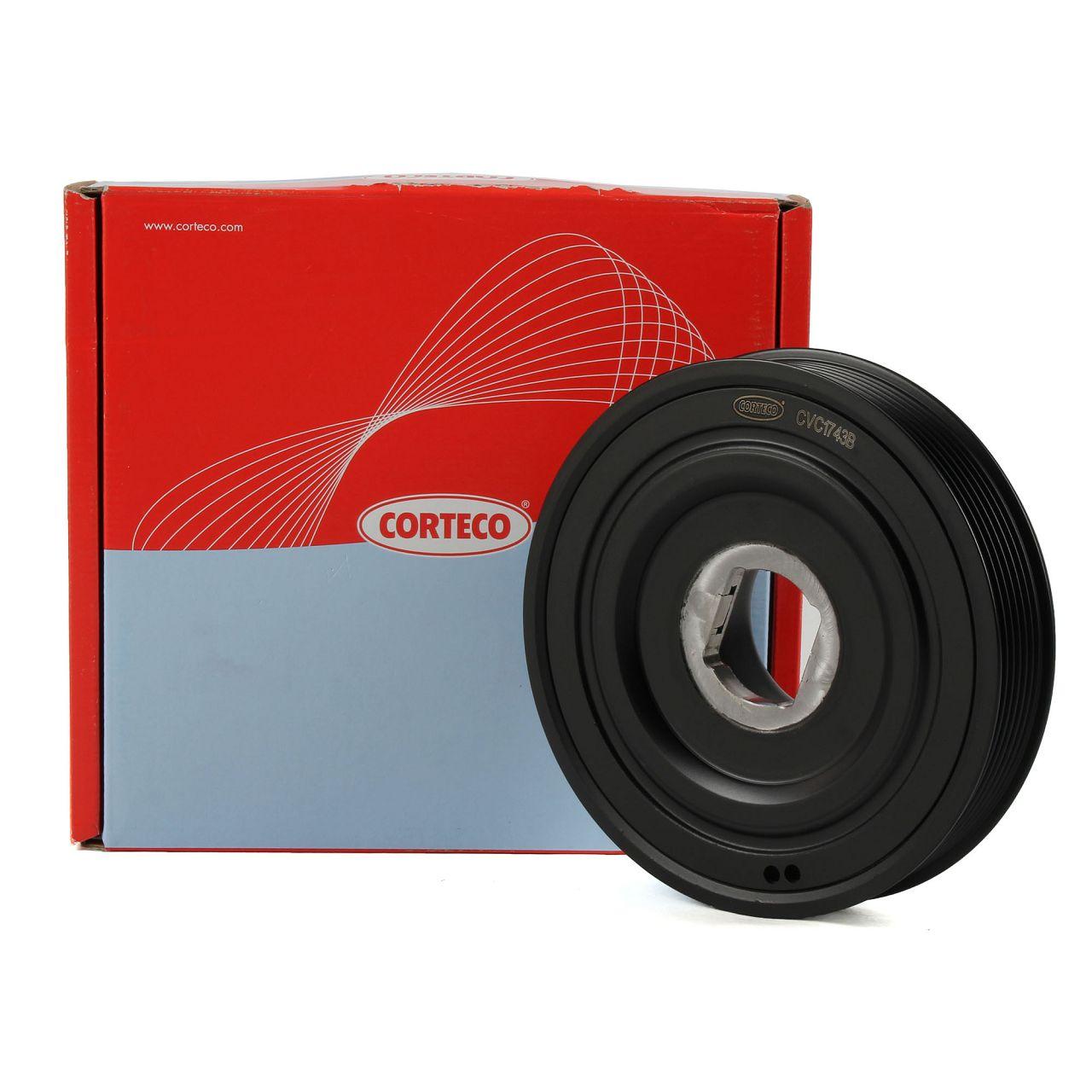 CORTECO 49402428 Riemenscheibe Kurbelwelle für OPEL MOVANO B RENAULT MASTER III