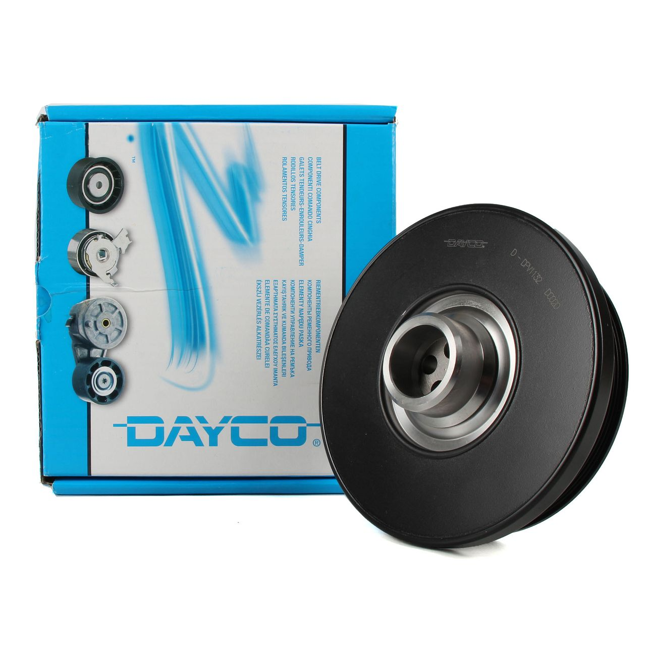 DAYCO Riemenscheibe Kurbelwelle DPV1132 für 5ER BMW F10 TOURING F11 11237800026