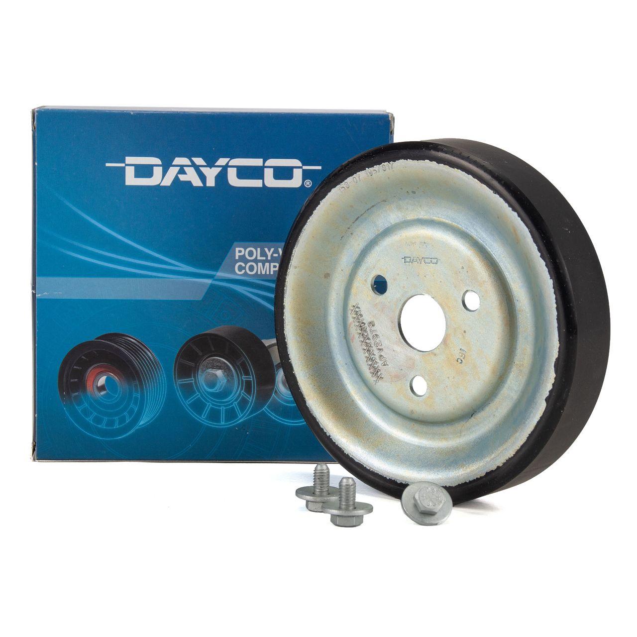DAYCO Riemenscheibe Wasserpumpe für BMW CITROEN PEUGEOT MINI OPEL DS 1.4 1.6