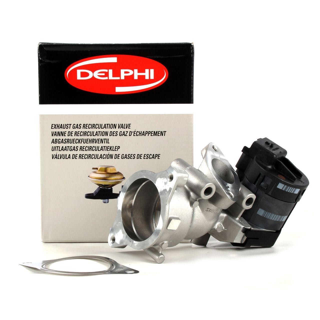 DELPHI AGR Ventil für FORD C-MAX FOCUS GALAXY KUGA MONDEO S-MAX 2.0 TDCi