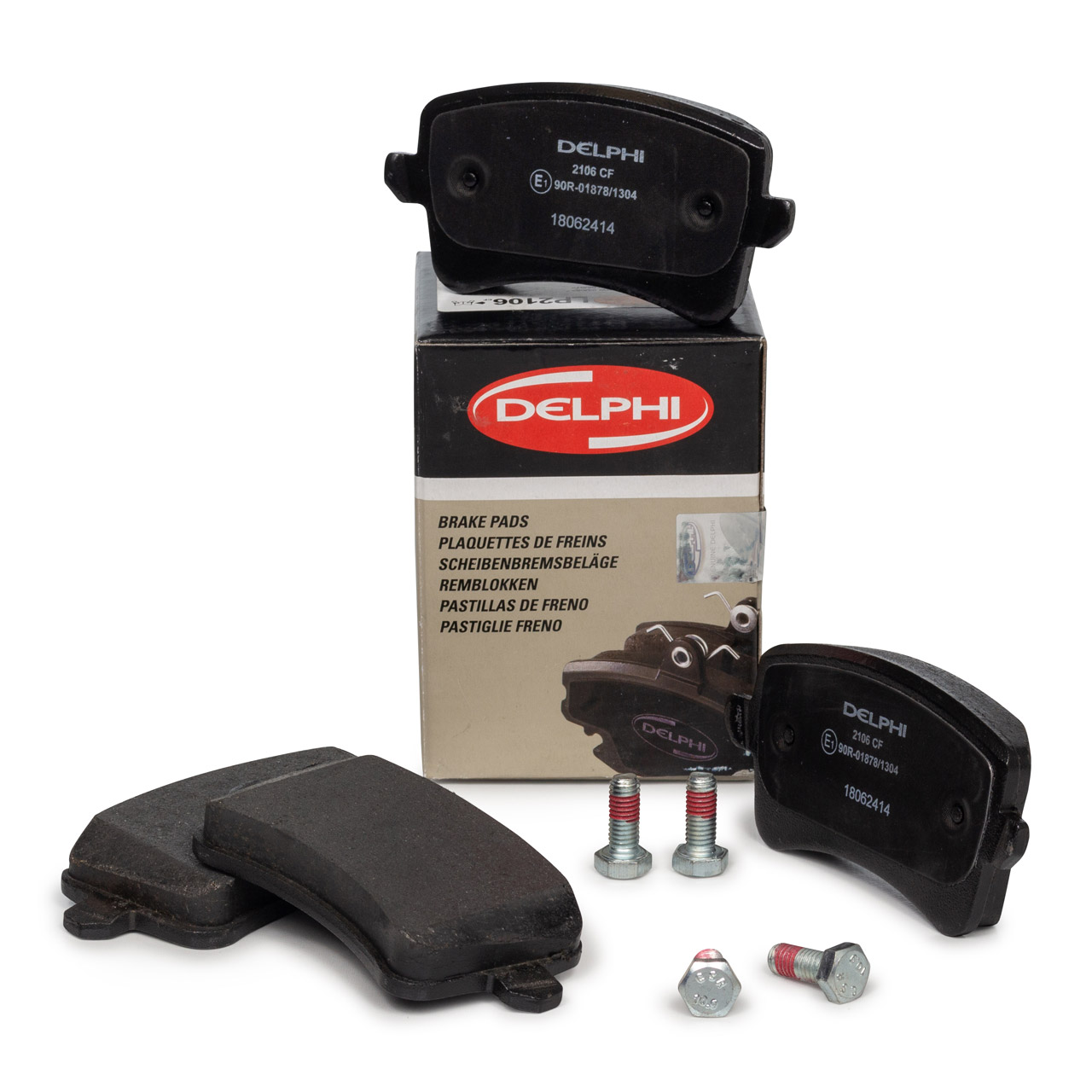 DELPHI Bremsbeläge Bremsklötze für AUDI A4 (8K B8) A5 (8T 8F) Q5 (8RB) hinten