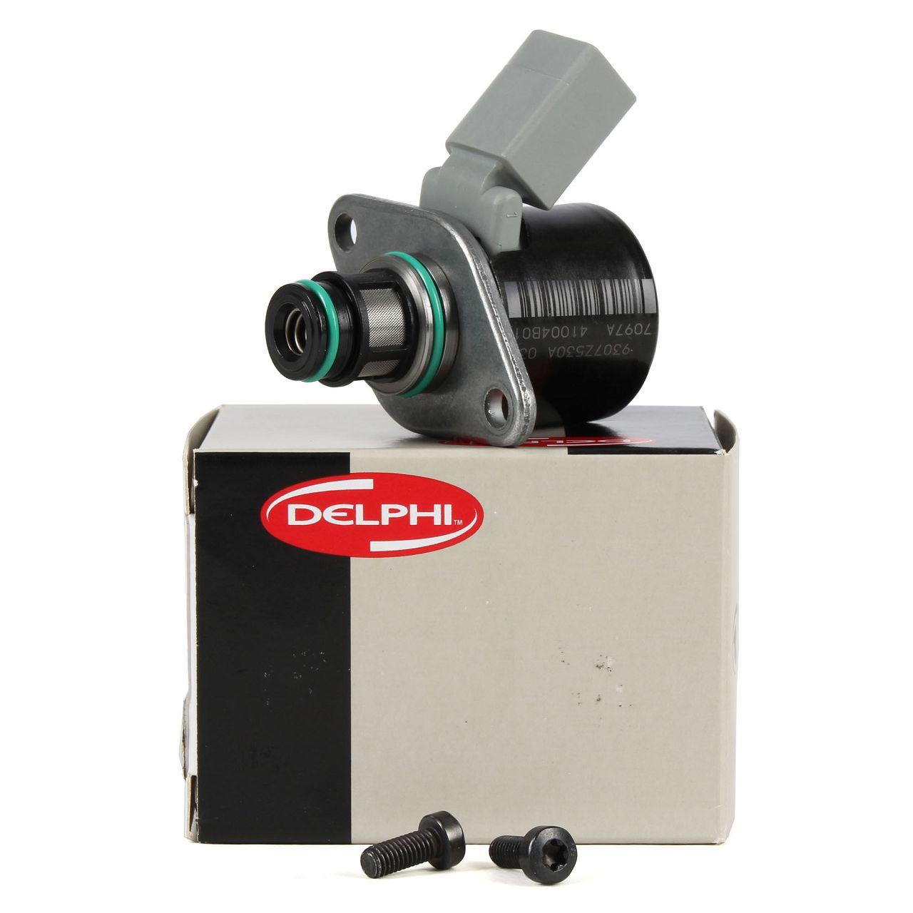 DELPHI Druckregelventil Ventil Kraftstoffpumpe für MERCEDES OM646 OM651 6460740484