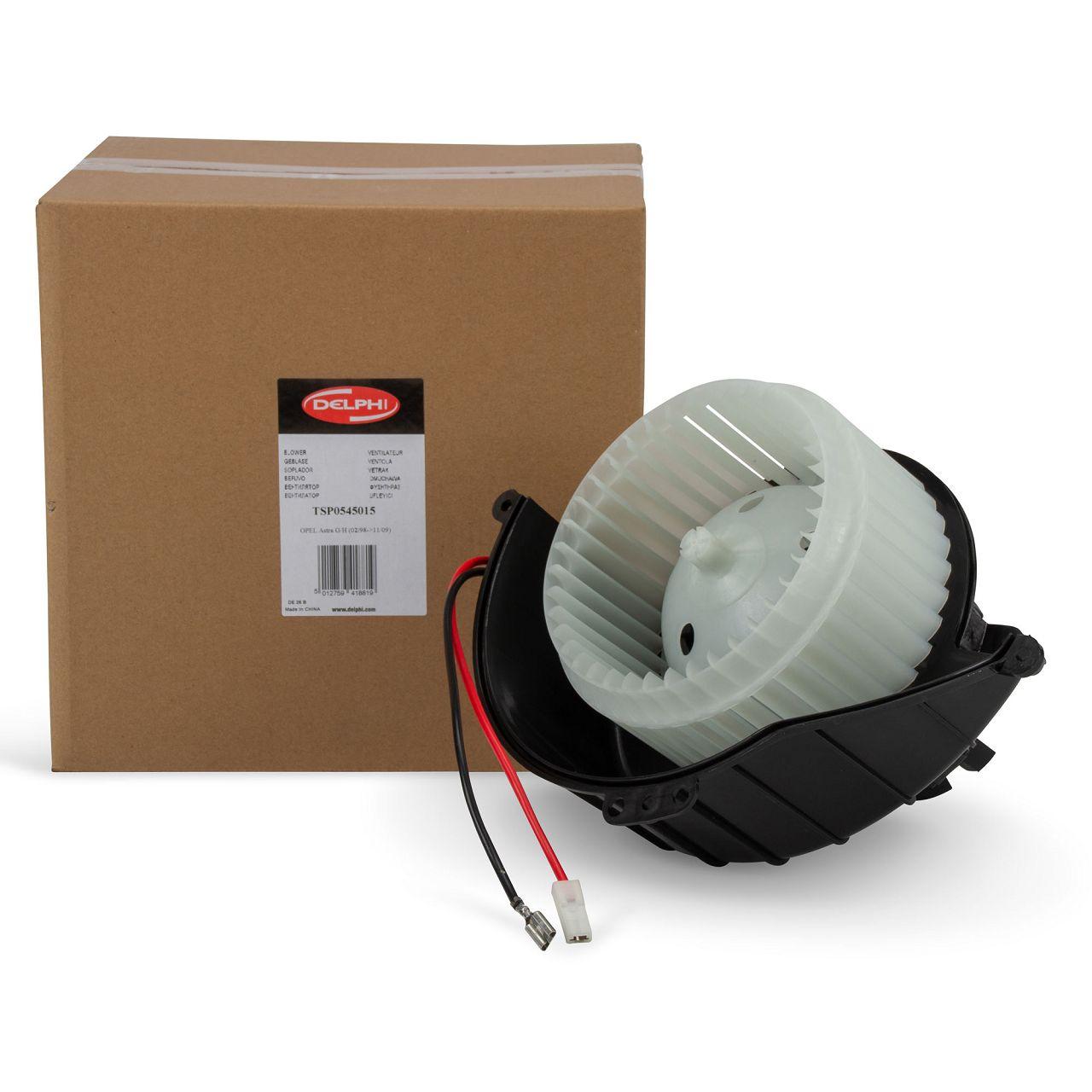 DELPHI Gebläsemotor Innenraumgebläse Gebläse Motor Lüfter OPEL Astra G H