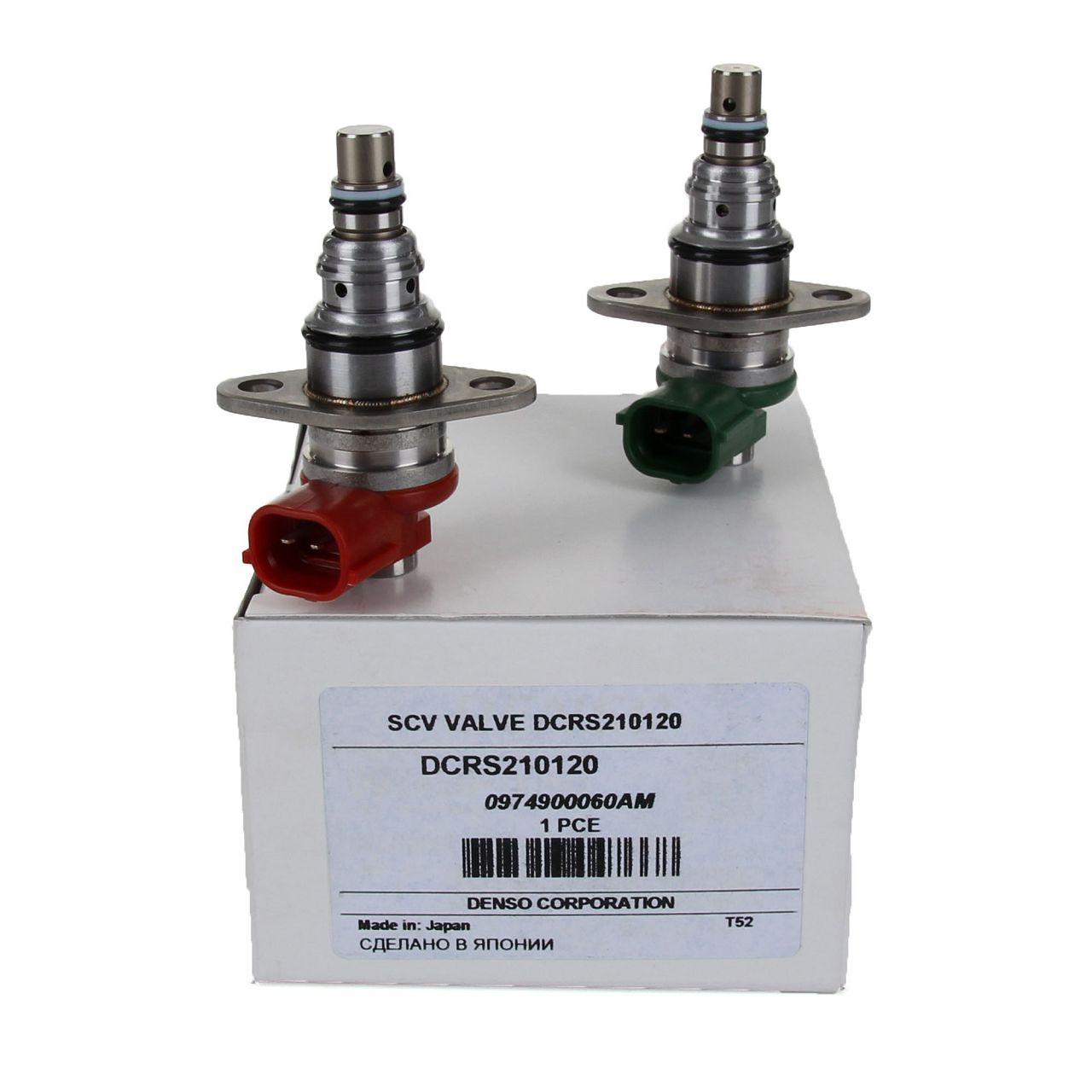 DENSO Druckregelventil Druckregler Steuerventil Magnetventil SET DCRS210120